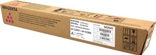 Тонер-картридж MPC3501E/MPC3300E для Ricoh малиновый