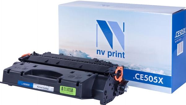 Картридж совместимый NVPrint CE505X для HP