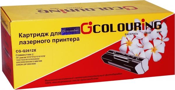 Картридж совместимый Colouring Q2612X для HP и Canon