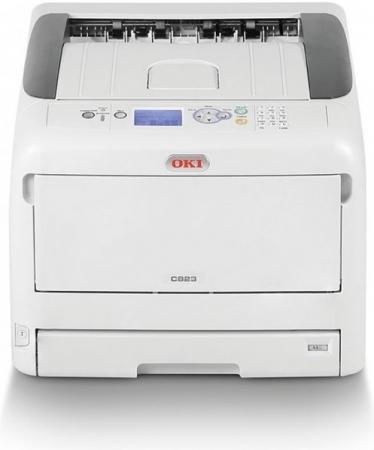 Принтер лазерный OKI C823n-EURO