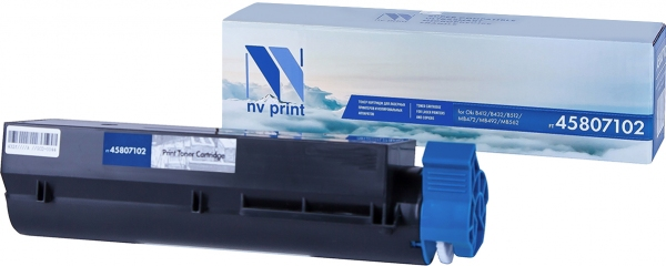 Картридж совместимый NVP 45807102 для Oki