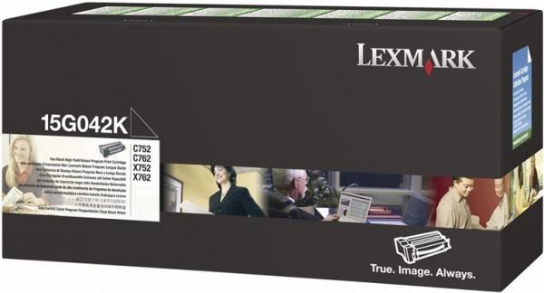 Картридж Lexmark 15G042K черный оригинал