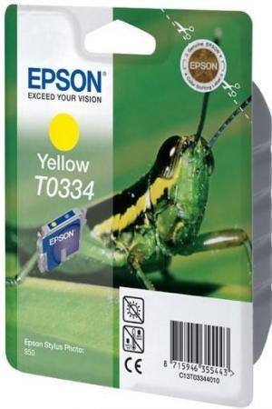 Картридж EPSON T033440 желтый оригинальный