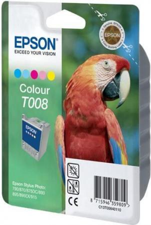 Картридж EPSON T008401 пятицветный оригинальный