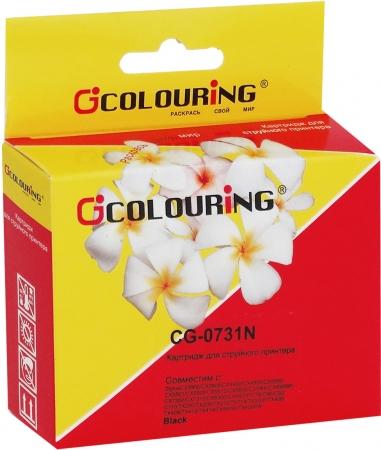 Картридж совместимый Colouring 0731N для Epson черный