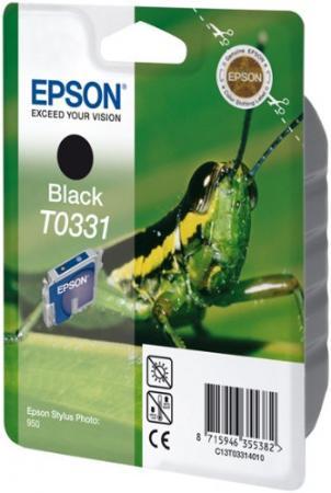 Картридж EPSON C13T03314010 черный оригинальный