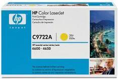 Картридж HP C9722A желтый оригинальный