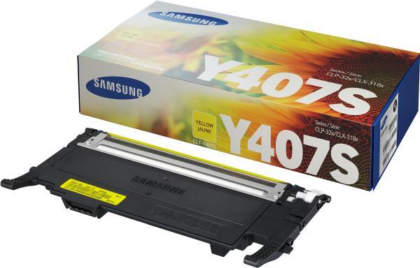 Тонер-картридж Samsung CLT-Y407S желтый (оригинальный)