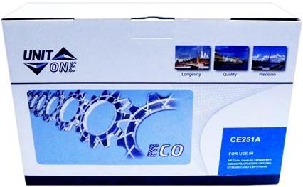 Картридж совместимый UNITON Eco CE251A синий для HP
