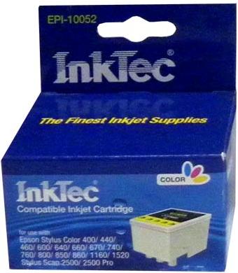 Картридж совместимый InkTec T052 цветной для Epson