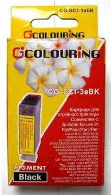 Картридж совместимый Colouring BCI-3eBk для Canon