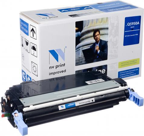 Картридж совместимый NV Print Q5950A черный для HP
