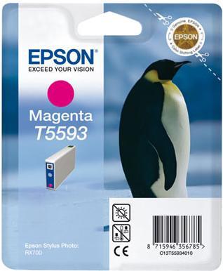 Картридж EPSON C13T55934010 пурпурный оригинальный
