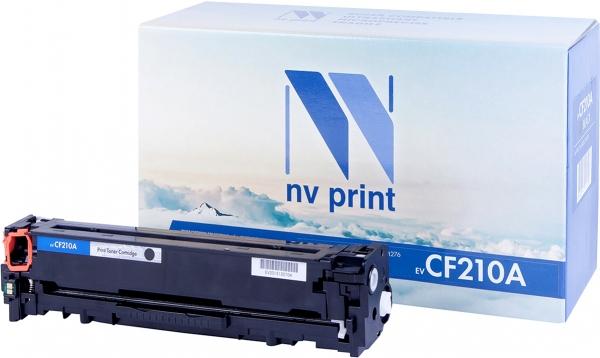 Картридж совместимый NVPrint CF210A для HP черный