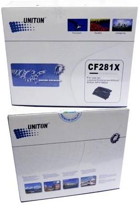 Картридж совместимый UNITON Premium CF281X черный для HP