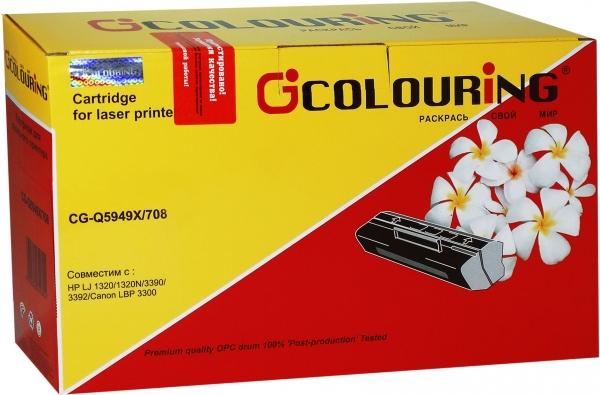 Картридж совместимый Colouring Q5949X/708 для HP и CANON