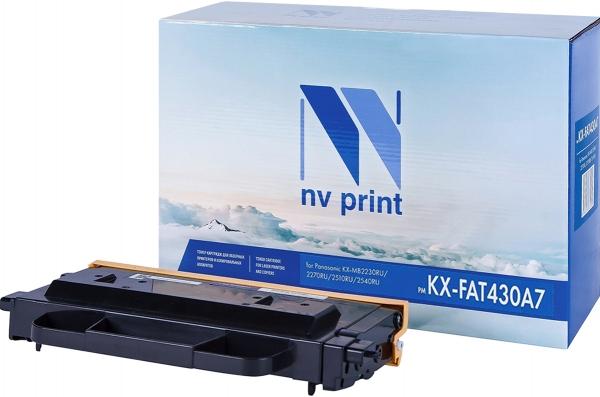 Картридж совместимый NVP KX-FAT430A7 для Panasonic