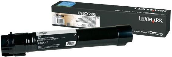 Картридж Lexmark C950X2KG голубой оригинальный