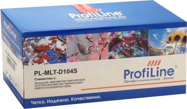 Картридж совместимый ProfiLine MLT-D104S для Samsung