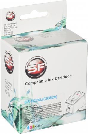 Картридж совместимый SuperFine C9352 трехцветный для HP