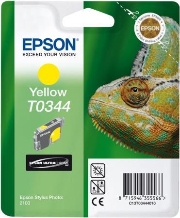 Картридж EPSON T034440 желтый оригинальный