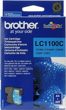 Картридж Brother LC1100C голубой оригинальный
