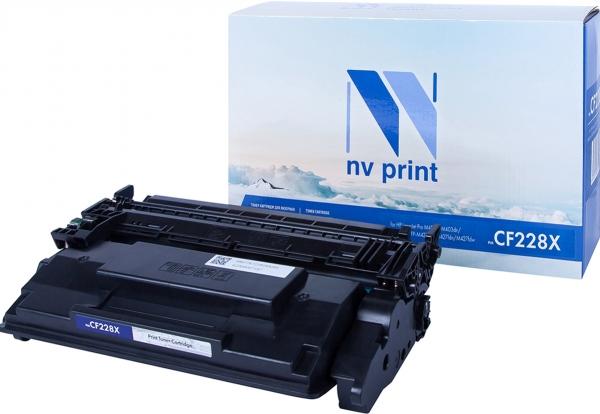 Картридж совместимый NVP CF228X черный для HP