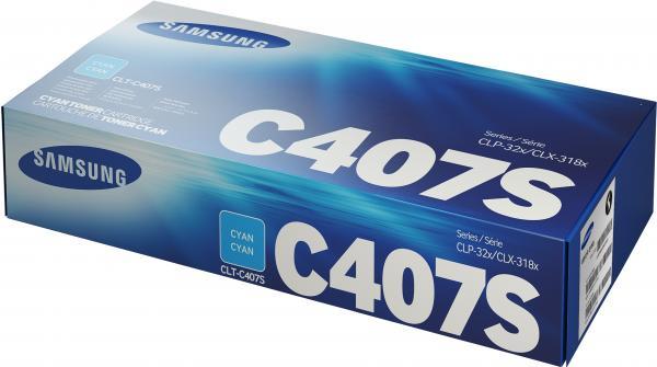Картридж совместимый UNITON Eco CLT-C407S голубой для Samsung