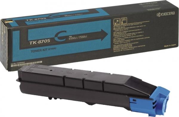 *Картридж Kyocera TK-8705С голубой оригинальный
