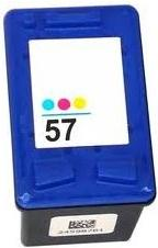 Картридж HP № 57A (C6657AE) трехцветный NV Print (совместимый)