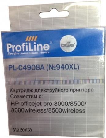 Картридж совместимый ProfiLine C4908A №940XL для HP пурпурный