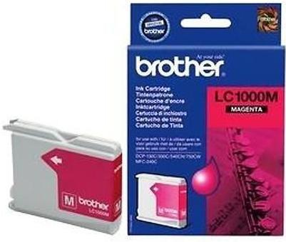 Картридж Brother 1000M пурпурный совместимый Unijet