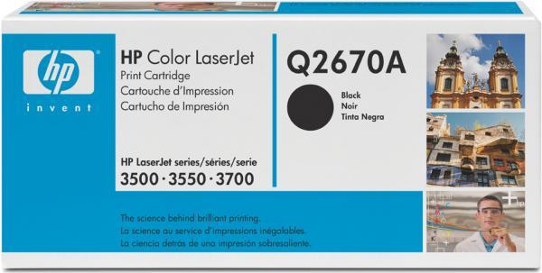 Картридж HP Q2670A черный оригинальный