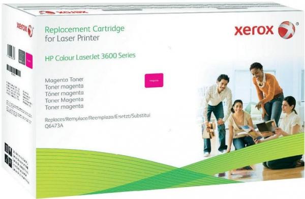 Картридж совместимый Xerox HVD Q6473A для HP пурпурный