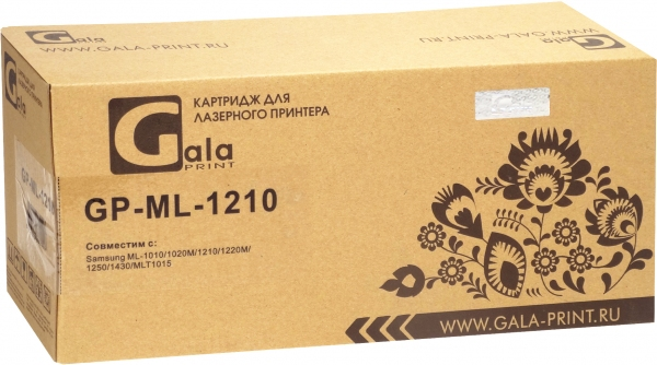 Картридж совместимый GalaPrint ML-1210D3 для Samsung, Xerox и Lexmark