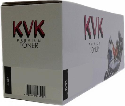 Картридж совместимый KVK CF400X черный для HP