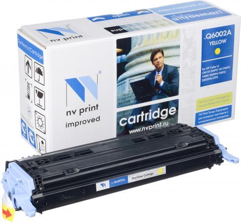 Картридж совместимый NV Print Q6002A желтый для HP