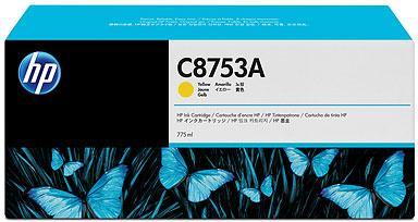 Картридж HP C8753A желтый оригинальный