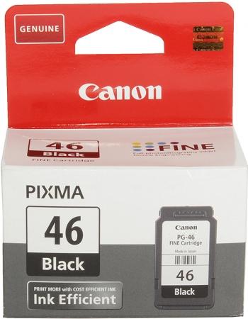 Картридж CANON PG-46 черный оригинальный