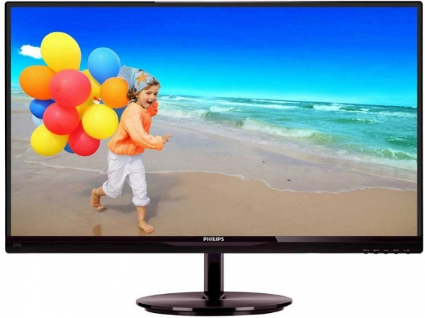 "Монитор 27"" Philips 274E5QSB/00(01) Black-Cherry"