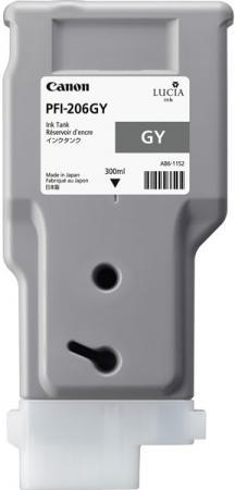 Картридж CANON PFI-206 серый оригинальный