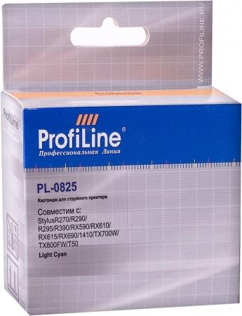 Картридж совместимый ProfiLine 0825 для Epson светло-голубой