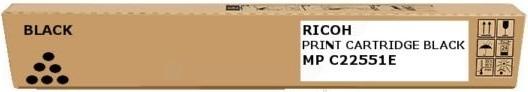 Тонер-картридж MPC2551E для Ricoh черный