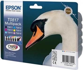 Картридж EPSON T08174A шестицветный оригинальный