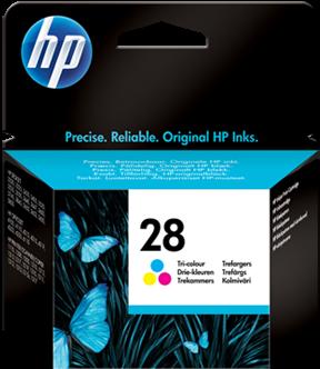 Картридж HP № 28 (C8728AE) трёхцветный (оригинальный)