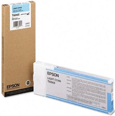 Картридж Epson T6065 светло-голубой оригинальный