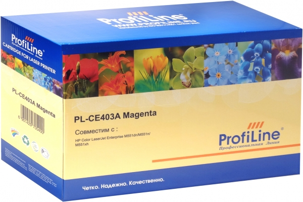 Картридж совместимый ProfiLine CE403A Magenta 6000 для HP