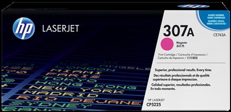 Картридж HP CE743A пурпурный совместимый UNITON Eco