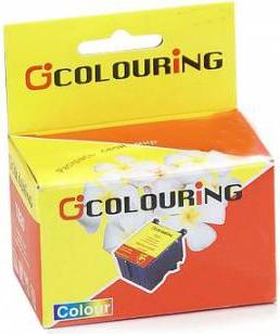 Картридж совместимый Colouring 08401 для Epson цветной