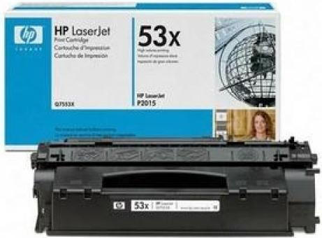 Картридж HP Q7553X оригинальный